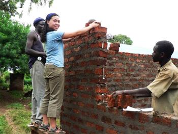 Janis Liu in Kenya