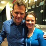 Taylor Mali and Tiffany Poirier